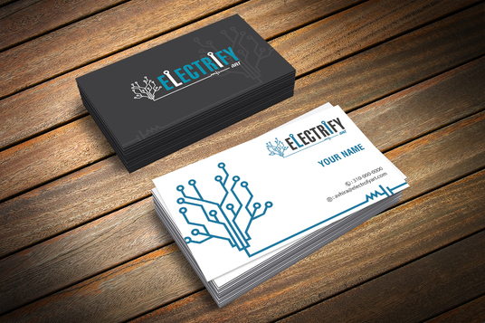 Do double side Print ready Business Card