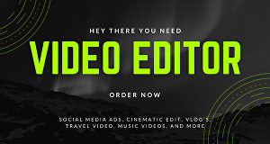 I will do video editing within 24 hours using adobe premiere pro