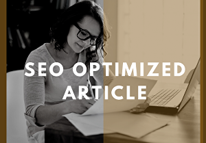 I will do top-notch SEO article writing for you