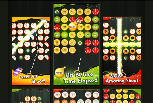 design attractive game UI UX, graphics, and gui for mobile
