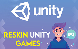 I will create, reskin and modify unity 2d,3d games