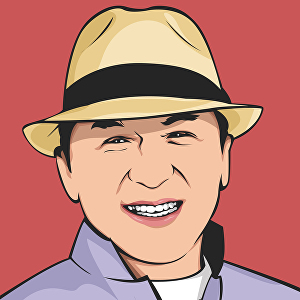 I will turn your photo into a cartoon vector or vexel portrait with flat background
