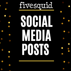 I will create social media posts and ads
