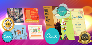 I will do any modern canva pro graphic templates design for all-purpose