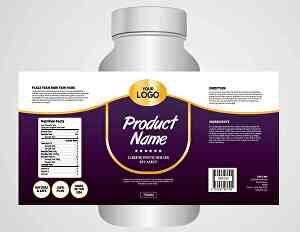 I will do product label design