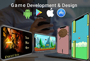 I will Develop 2D Games for you and be your game developer