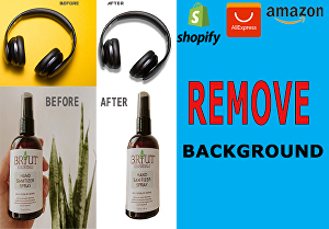 I will do background removal service