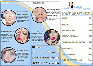 I will Design Awesome Print Ready Brochure and Flyer