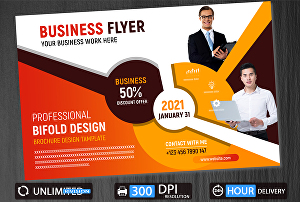 I will design perfect flyer to promote your business