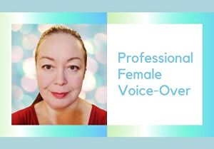 I will record and produce your female American accent voice over up to 100 words