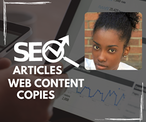 I will write high ranking SEO web content, copy and article for you