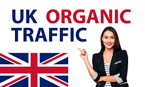 I will drive 10000 real organic targeted UK web traffic to your website