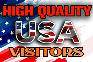 I will send 10000 high quality targeted organic USA web traffic to your website