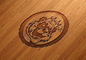 I will turn your logo into 3D  illustration
