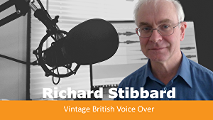 I will provide a vintage British English voiceover