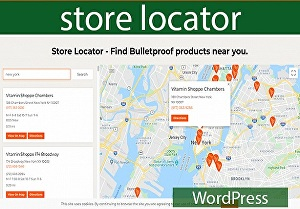 I will setup WordPress store locator page in your website