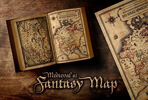 I will design your medieval fantasy map
