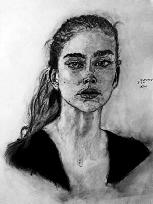 I will draw a beautiful realistic image or creative concept in pencil