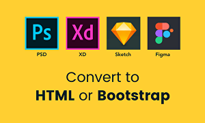 I will convert psd to responsive html
