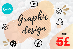 I will create anything in canva