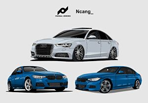 I will Trace your car or any vehicle into cartoon vector art
