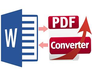I will convert  your word file to a PDF file