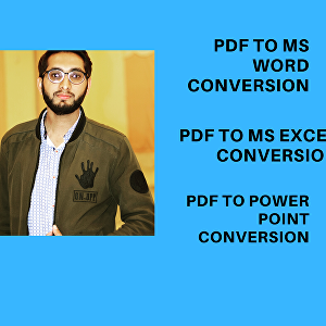 I will convert PDF to Ms word