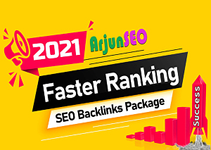 I will do rank your website on google fast page monthly SEO backlinks, all unique domain and manu