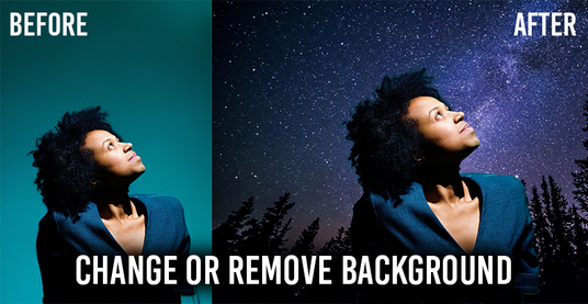 remove or change the background from your 10 images