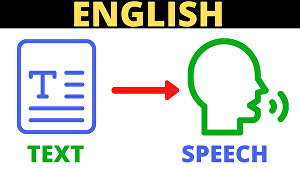 I will convert your text to speech in the English language
