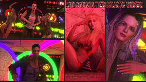 I will do Hottest animated music video