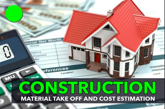 do material take off and cost estimation for all construction trades or projects