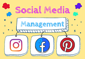I will be your professional social media marketing manager & content designer