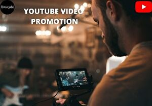 I will do organic youtube video and channel promotion