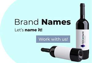 I will suggest brilliant names for your business, product or brand