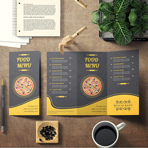 I will do handout, bifold brochure and trifold brochure design