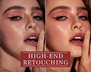 I will do photo editing  and retouching