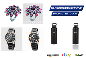 I will do product image background remove and retouch