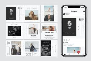 I will design amazing instagram post and stories for fast organic instagram growth