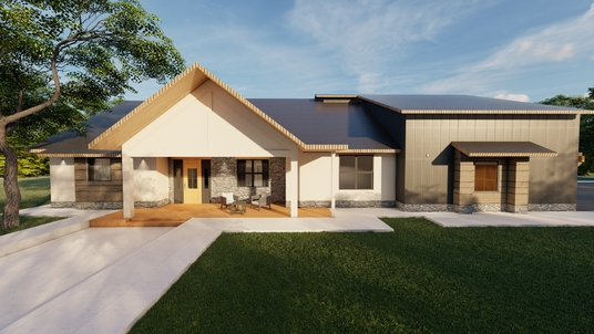 create 3D perspective renders of your house plans