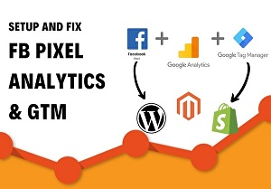 I will connect google analytics with your website through GTM