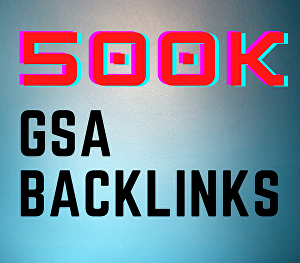 I will create 500k search engine ranker backlinks using blog comments