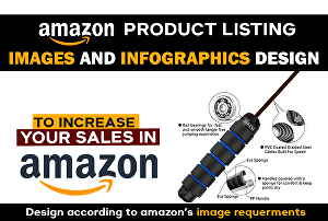 I will design your amazon listing infographic, lifestyle images, and background Remove