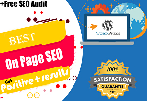 I will do on page SEO