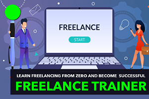 I will teach you how to start or grow your freelancing business