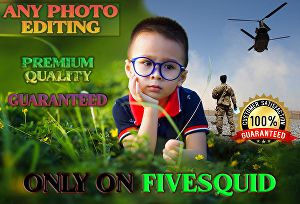 I will do any advanced photo editing within 24 hours