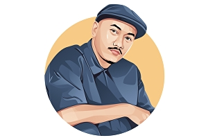 I will draw realistic vector from your photo