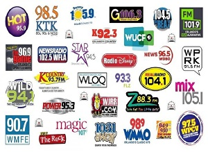 I will provide song rotation On 35 Top Latin American Radio Stations