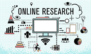 I will do web research and online research on any topic