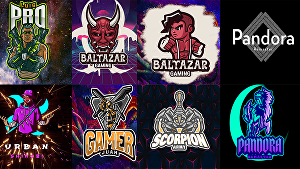 I will  make a logo for your video game guild or sports team